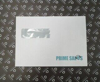 Logoga ümbrik - Prime Sales