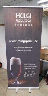 Roll up bänner - Mulgi Pruulikoda