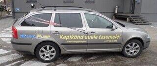 Reklaamkleebised autole - BungyPump
