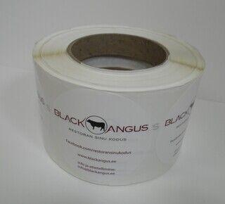Tootekleebised - Black Angus