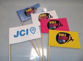 Paberlipud logoga - JCI