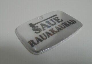 Helkur logoga - Saue Rauakaubad