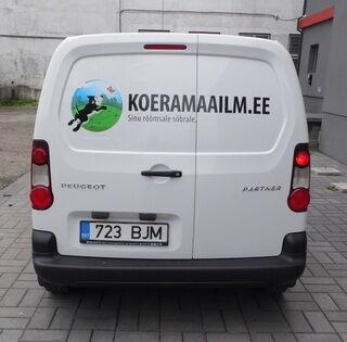 Reklaamkleebised kaubikule - Koeramaailm.ee