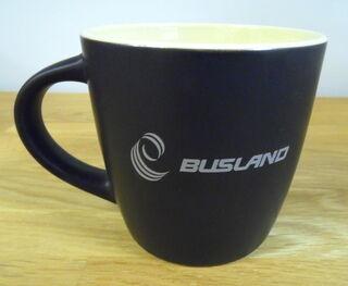 Logoga reklaamkruus - Busland