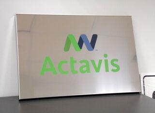 Actavis logosilt