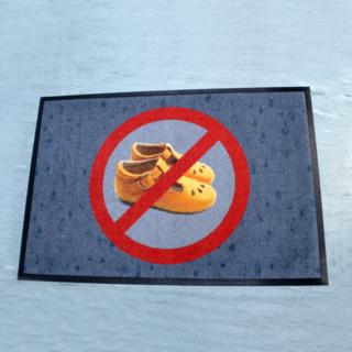 Välisjalanõud keelatud vaip
