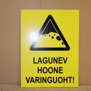 Hoiatussilt - Varinguoht!