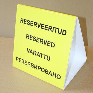 Infosilt - Reserveeritud