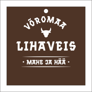 Logoga tootesilt - Võromaa Lihaveis