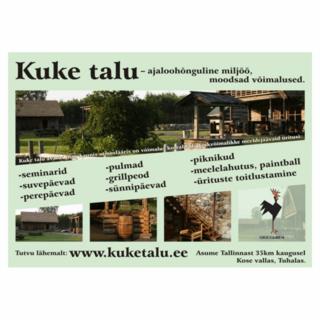 Reklaamsilt - Kuke Talu