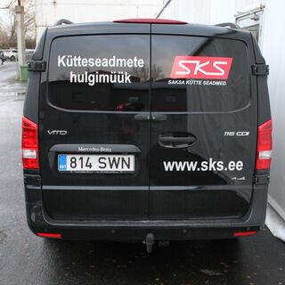 Reklaamkleebised kaubikule - SKS