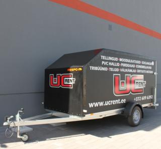 Logokleebised haagisele - UC Rent