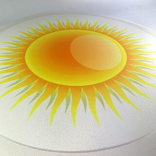 Põrandakleebis - Päike