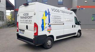 Autokleebised - Voog Transport