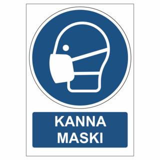 PVC silt - Kanna maski