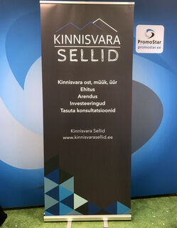 Roll-up bänner - Kinnivara sellid