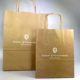 PPA logoga paberkott