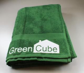 Green Cube saunalina