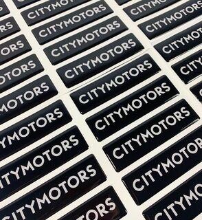 3D kleebised - Citymotors