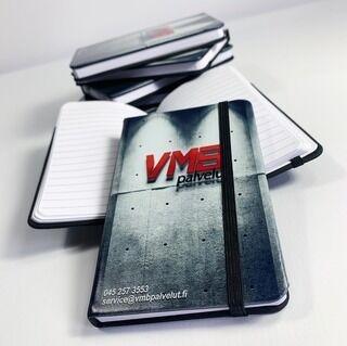 Märkmikud logoga - VMB palvelut