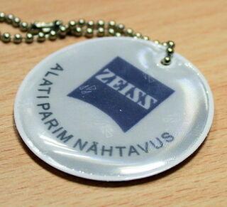 Zeiss - helkur logoga