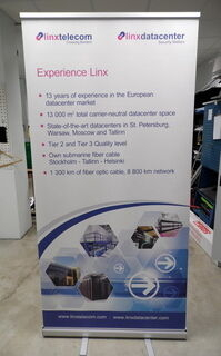 Linxtelecom roll up stend