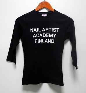 Nail artist academy logoga särk