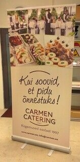 Carmen Catering rollup
