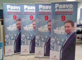 Paavo Arhinmäki rollupit