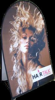 Kaksipuolinen Soft banner 200x100 cm