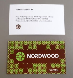 Nordwood visiitkaardid