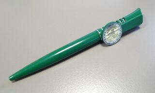 Roheline pastapliiats logoga
