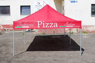 3x6 Pop-up telk Pizza