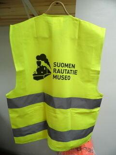 Logo seljal Suomen Rautatie museo
