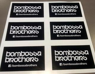 Reklaamkleebised Bombossa Brothers