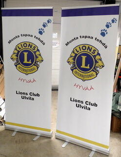 Klassinen Roll-Up Lions Club Ulvila