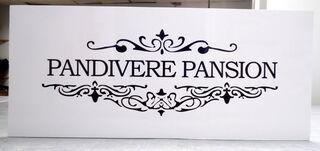 PVC kyltti Pandivere Pansion