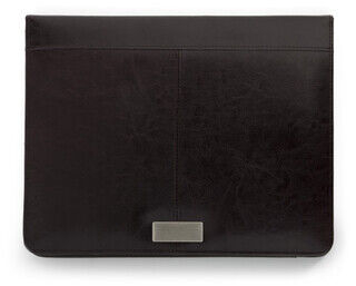 A4 Bonded leather folder.