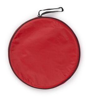 Foldable barrel bag.