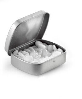 Tin case with mints