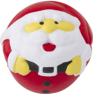 Santa Claus shaped PU stress ball
