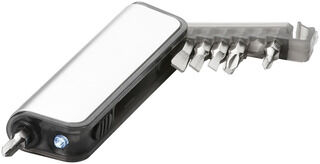 Reno mini tool box with flashlight