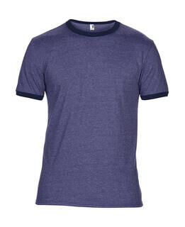 Adult Fashion Basic Ringer Tee 8. pilt
