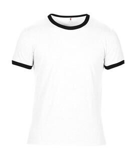 Adult Fashion Basic Ringer Tee 5. pilt
