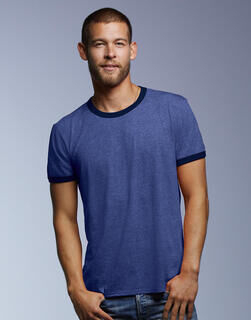 Adult Fashion Basic Ringer Tee 3. pilt