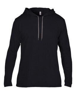 Adult Fashion Basic LS Hooded Tee 8. pilt