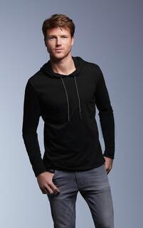 Adult Fashion Basic LS Hooded Tee 9. pilt