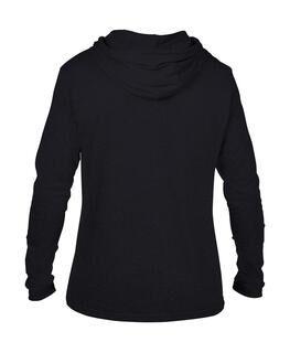 Adult Fashion Basic LS Hooded Tee 10. pilt