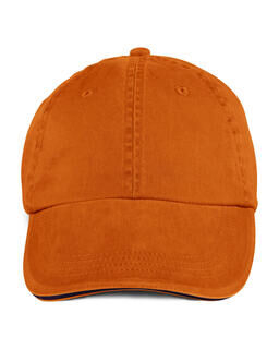Sandwich Trim Pigment-Dyed Twill Cap