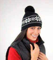 Fair Isles Knitted Hat